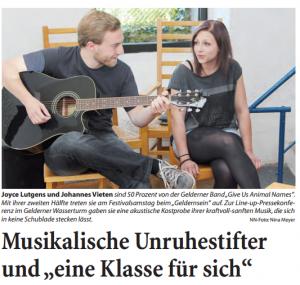 Niederrhein Nachrichten vom 11.06.2014
